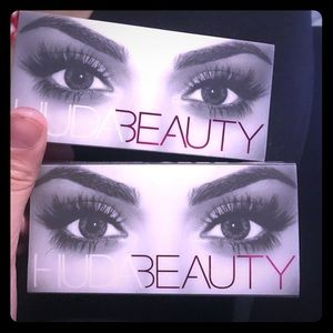 Two sets of huda beauty lashes